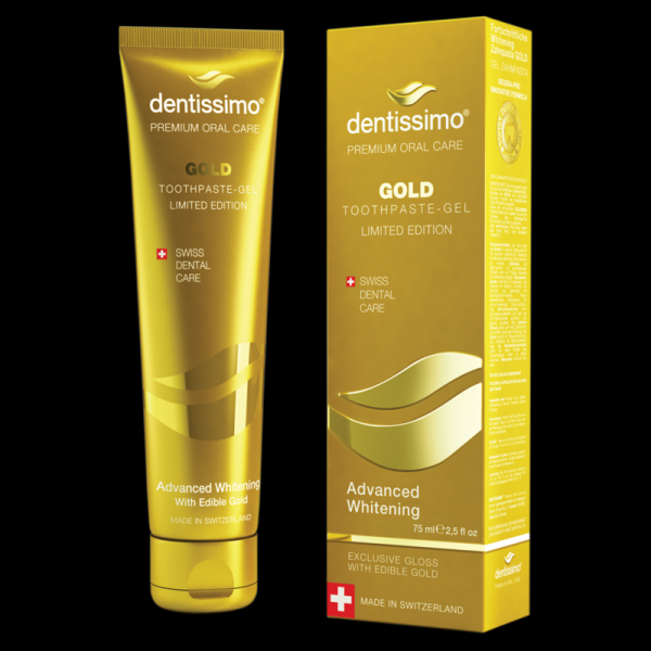 Dentissimo Gold Gel-Zahnpasta