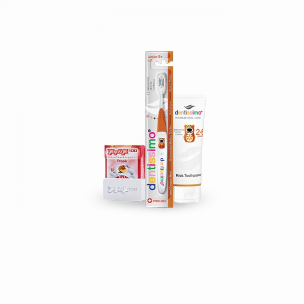 Dentissimo/Top Caredent Mundpflege-Set für Kinder