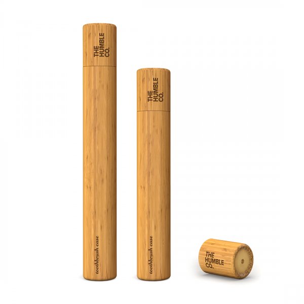 HUMBLE Zahnbürsten-Etui, Bambus
