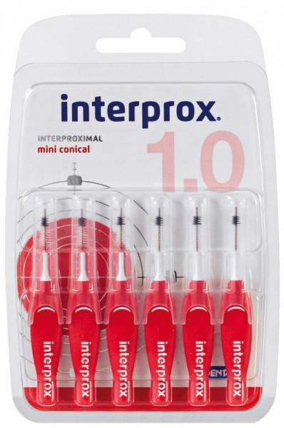 DENTAID interprox 4G miniconical 6 St. (Interdentalbürsten)