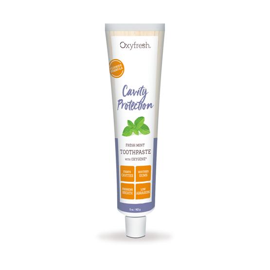 Oxyfresh Cavity Protection Zahnpasta, fresh-mint mit Fluorid