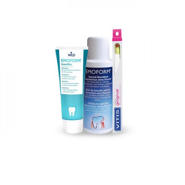 Emoform/Vitis Zahnpflege-Set für empfindliche Zähne