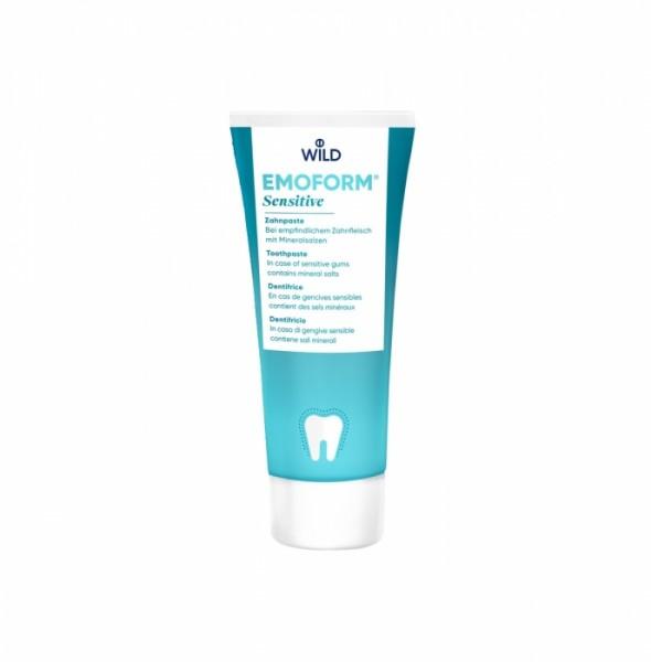 Emoform-F sensitiv Zahnpaste mit Mineralsalzen und Fluorid (75ml)