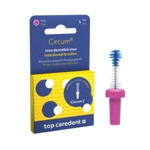 Top Caredent Circum-2 Interdentalbürste 1,1 mm CDB-2 (pink)